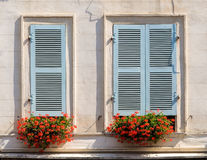 Building facade in Bayonne Stock Photography