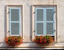 Building facade in Bayonne. France Stock Photography