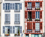 Building facade in Bayonne Stock Photo