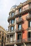 Building facade in the city of Barcelona Stock Photos