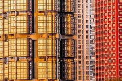 Building facade exterior paris city France Stock Photo