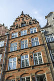 Building facade Gdansk Stock Photos