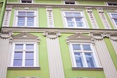 Building facade green Stock Photos