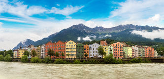 Building facade in Innsbruck Royalty Free Stock Photography