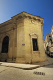 Building facade in old havana street Royalty Free Stock Photo