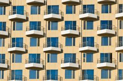 Building facade pattern Stock Photos