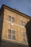 Building Facade, Pienza Royalty Free Stock Image