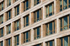 Building facade - real estate exterior Royalty Free Stock Photos