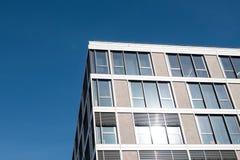 Building facade - real estate exterior Royalty Free Stock Photo