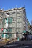 Building facade renovation Royalty Free Stock Photography