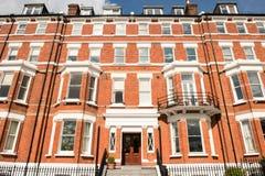 Building Facade in Richmond, London. Stock Photo
