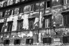 Building facade typical of Trastevere Royalty Free Stock Images