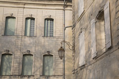 Building Facade, Uzes; Provence; France. Building Facade in Uzes; Provence; France; Europe Royalty Free Stock Image
