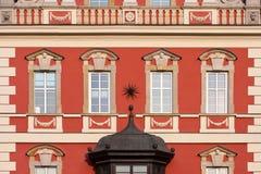 Building facade - Wroclaw, Poland Stock Photo
