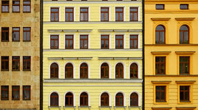 Building facades Stock Images