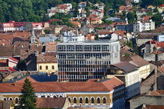 Building of Faculty of Civil Engineering of the Technical University of Cluj-Napoca Royalty Free Stock Image