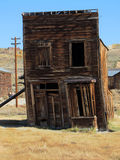Building falling down, Bodie Stock Image