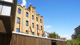 Building of the Farinera del Clot. Barcelona Stock Images