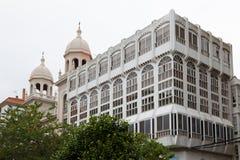 Building in Ferrol, Galicia, Spain Stock Image