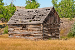 Building in a Field Stock Images