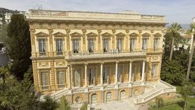 Building of Fine Arts Museum in Nice, France, collection of paintings, landmark