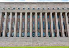 Building of the Finnish parliament Royalty Free Stock Photo