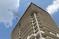 Building of flats Royalty Free Stock Image