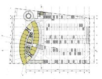 Building floor plan Stock Photography