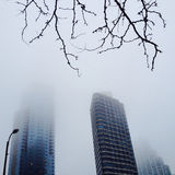 Building fog Stock Photography