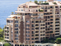 Building in Fontvieille, Monaco Stock Photos