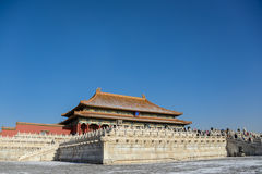 Building in the Forbidden City. Beijing Stock Photography