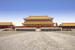 Building in the Forbidden City Royalty Free Stock Images