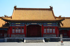 A building in the forbidden city, China Stock Photography