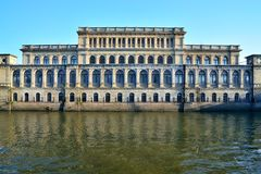 Building of the former Koenigsberg stock exchange. Kaliningrad, Russia. Architect Muller, neo-Renaissance, built in 1875. Monument of architecture royalty free stock images