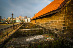 Building at Fort Santiago, in Intramuros, Manila, The Philippine Royalty Free Stock Photography