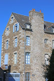 Building in Fougeres Royalty Free Stock Photo