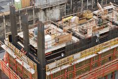 Building Foundation Stock Photos