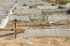 Building foundation Stock Photo