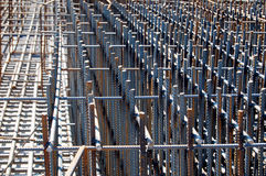 Free Building Foundation With Steel Rods Stock Photos - 52619763