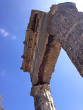 Building fragment of ancient Pantikapej City Stock Image