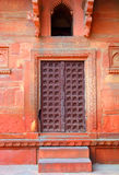 Building fragment with door in India Royalty Free Stock Images