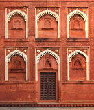 Building fragment with door in India Royalty Free Stock Photography
