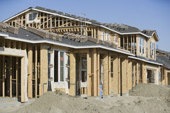 Building Frame At Site Royalty Free Stock Image