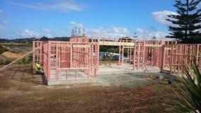 Building. Framing building studs nogs bems stock photo
