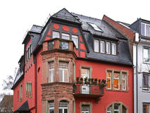 Building in Frankfurt am Main. Germany Royalty Free Stock Images