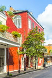 Building in the French Quarter in New Orleans Stock Photos