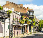 Building in the French Quarter in New Orleans Royalty Free Stock Photos