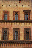 Building Front in Mantova Stock Image