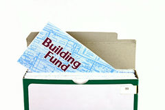 Building fund envelope Royalty Free Stock Photos