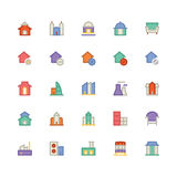 Building & Furniture Vector Icon 3. Take a trip back in time and decorate with this new Buildings and Furniture Pack You will love using the icon pack for your Stock Image